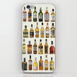 Whisky poster iPhone Skin