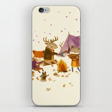 Critters: Fall Camping iPhone & iPod Skin