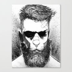 Lion man Canvas Print