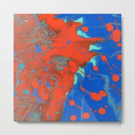 Paint Pouring 32 Metal Print