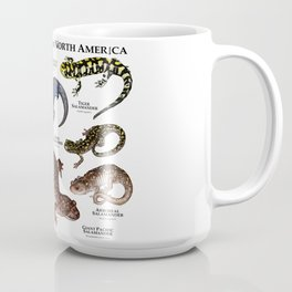 Salamanders of North America Coffee Mug