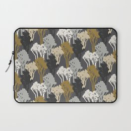 Arboreal Silhouettes - Golds & Silvers Laptop Sleeve
