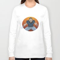 chad wys Long Sleeve T-shirts featuring Chad-verine by Art By Someone