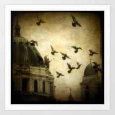 Angel Symphony Art Print