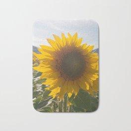 Sunflower (1) Bath Mat