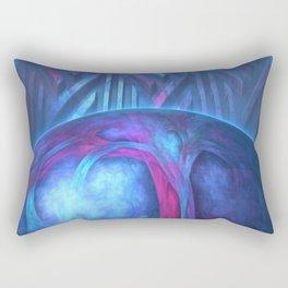 Big Blue Marble Rectangular Pillow