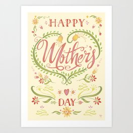 Mothers Day Art Print