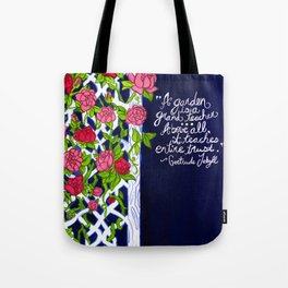 A Garden is a Teacher Tote Bag
