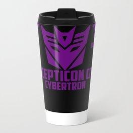 Decepticons  Metal Travel Mug