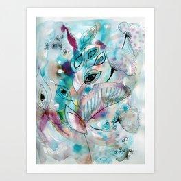 dancing wind Art Print