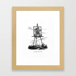 Big Van Gogh, QLD Framed Art Print