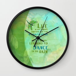 Life/Dance Wall Clock