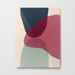Minimal Abstract 4 Metal Print