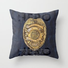 Blessed Are The Peacemakers Throw Pillow