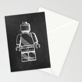 Lego Man original Lego patent Stationery Cards