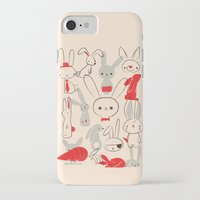 bunnies iPhone & iPod Cases featuring Bunnies by Jay Fleck