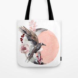 Visions Of Crystal Eyed Ravens Tote Bag