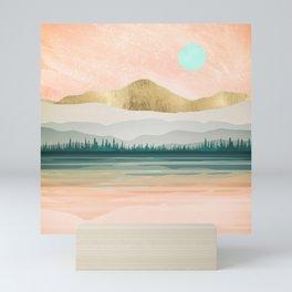 Spring Forest Lake Mini Art Print