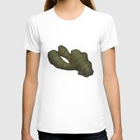 ginger T-shirts featuring Ginger by Antonina Sotnikova