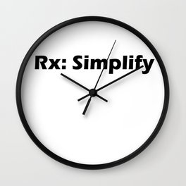 Rx: Simplify Wall Clock