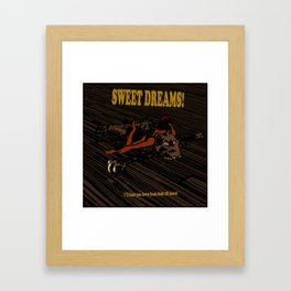Sweet Dreams! Framed Art Print