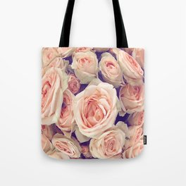 Pink Roses In A Bubble Tote Bag