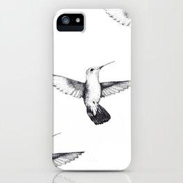 The Hummingbird  iPhone Case