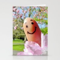 selfie Stationery Cards featuring Selfie by Before Your Very Eyes