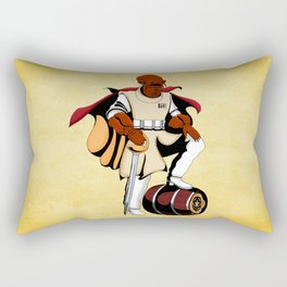 Captain Ackbar Rectangular Pillow