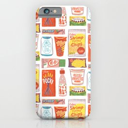 Asian Snacks iPhone Case