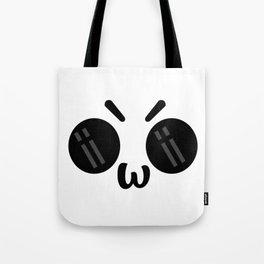 ÒwÓ Angry OwO Emoticon Emoji  #society6 #tapestry #posters #artprint Tote Bag