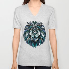 Blue Lion Unisex V-Neck