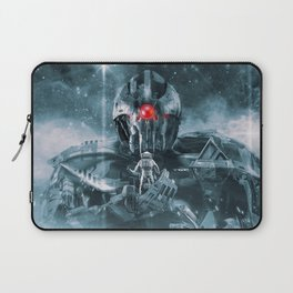 Audience With The Titan Laptop Sleeve