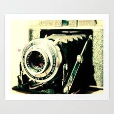 Vintage Camera Print: Ansco Afga Speedex Standard! Art Print