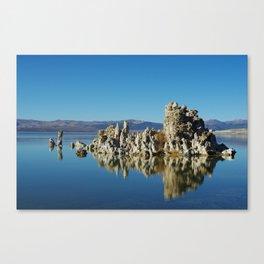 Tufa island, Mono Lake, California Canvas Print