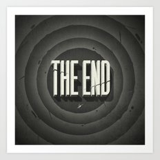 The End Art Print