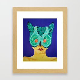 Masked Too Framed Art Print