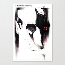 Futuristic Cyborg 5 Canvas Print