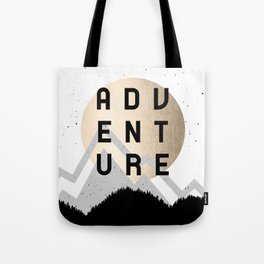 Adventure Golden Sunrise Tote Bag