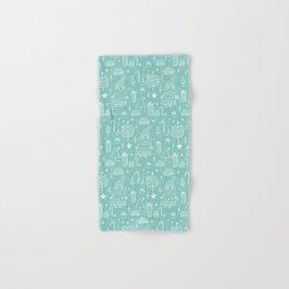 Santa Workshop Blue Hand & Bath Towel