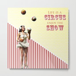 The Ultimate Juggler Metal Print