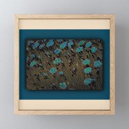 Blue Meadow Framed Mini Art Print