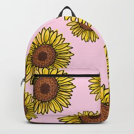 Happy sunflower Backpack