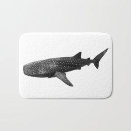 Big Fish, B & W Bath Mat