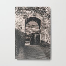 ITALY GATEWAY Metal Print