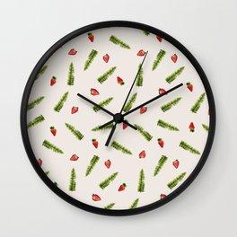 Fresones de Huelva Wall Clock