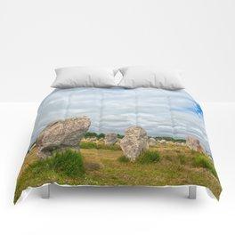 Carnac Stones Comforters