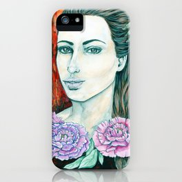 Miss Tsar iPhone Case