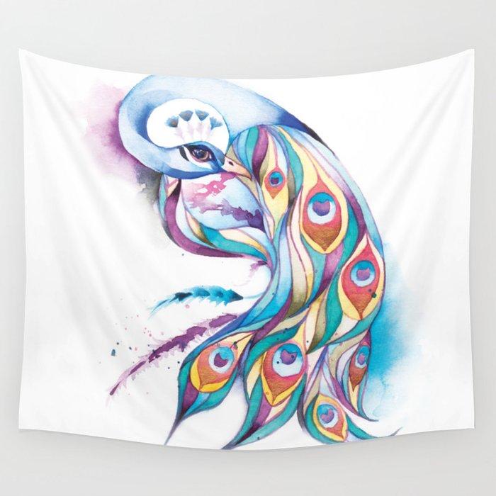 Princess Peacock Wall Tapestry