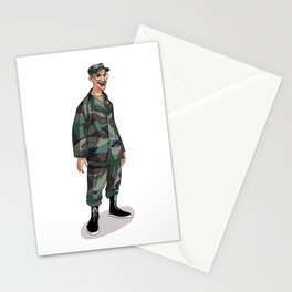 I'm going to Army Stationery Cards